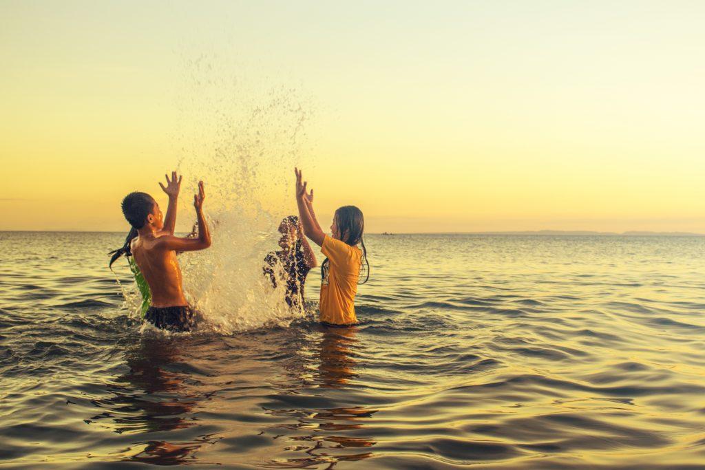 Bad kan vara ångestladdat